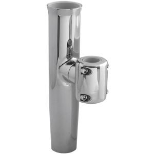 Stainless Steel Clamp-On Boat Rod Holder