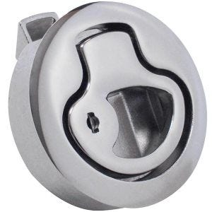 "Large 3"" Stainless Steel Flush Slam Latch"