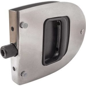 Stainless Steel Oval Cabin Door Latch