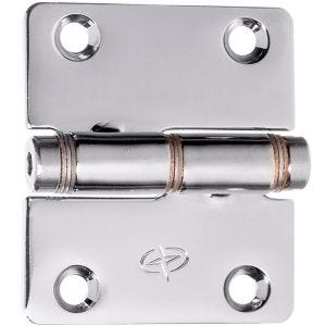 "Stainless Steel Swaged Down Friction Hinge 2.31"" x 2"""