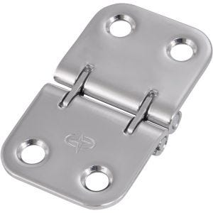 "Stainless Steel Flush Mount Butt Hinge 2.75"" x 1.625"""