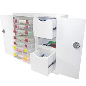 Tackle Storage Unit - 2 Drawer, 7 Tray
