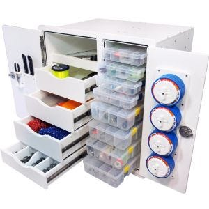 Tackle Storage Unit - 4 Drawer, 8 Tray
