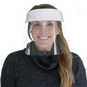 Protective Face Shield Splash Guard