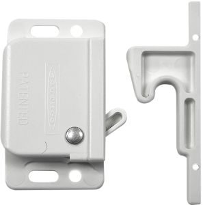 White Grabber Latch