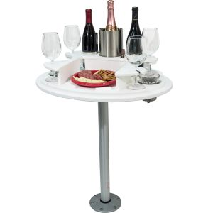 Pontoon Party Table with Serving Tray