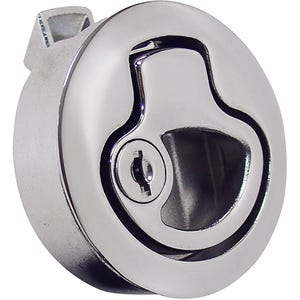 Deluxe Stainless Steel Locking Flush Latch