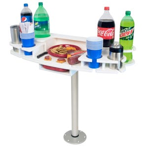 Drink Bar with Serving Tray