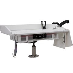 Rod Holder Mount Fillet Table with Plano Tray Storage