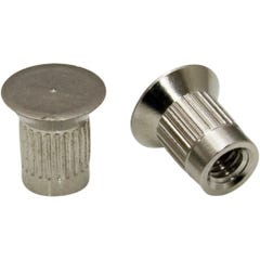 Nickel Plated Barrel Nut