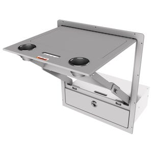 Harris Pontoon - Folding Table + Drawer Combo