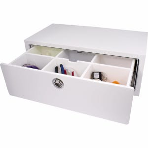 Free Standing Single Drawer Unit with Dividers