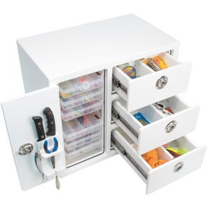Free Standing 3 Drawer 6 Plano Tray Tackle Unit