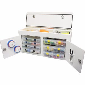 Free Standing Tackle Unit with Top Storage
