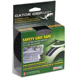"Gator Grip Anti-Slip Safety Grit Tape 2"" x 15ft - Black"