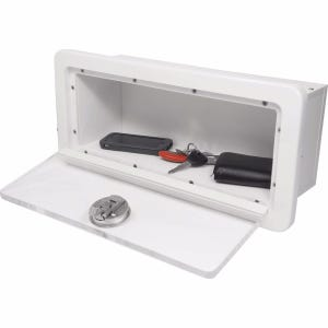 Glove Box With Clear Acrylic Door