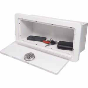 Glove Box With Clear Acrylic Door