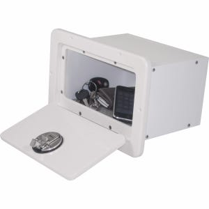 Glove Box with Loncoin Non Skid Insert
