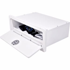 Glove Box with Retainer Lip