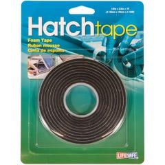 """Hatch Foam Tape 0.75"""" x 7ft - Black"""
