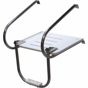 Inboard Outboard Swim Platform with 1 Step Ladder
