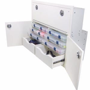 Leaning Post Tackle Unit - 2 Drawer, 6 Tray