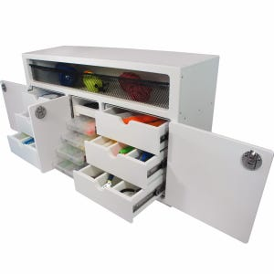 Leaning Post Tackle Unit with Storage Area