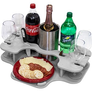 Crest Pontoon Small Serving Tray- Tray Only