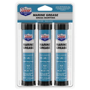 Lucas Oil Products Marine Grease - 3oz 3 pack