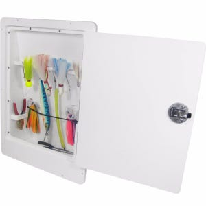 Lure Storage Box with Bungee