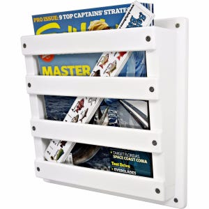 Magazine Storage Rack