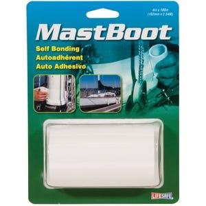 """Mast Boot Self Bonding Tape 4"""" x 8.3ft - White"""