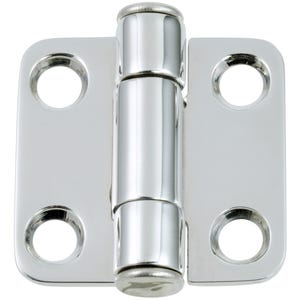 "Medium Force Stainless Steel Friction Hinge 1.5"" x 1.5"""