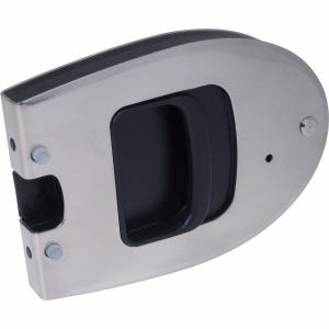 "Omni Flush Transom Door Latch for .5"" Thick Doors"