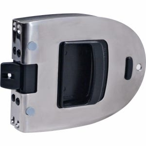 "Omni Flush Transom Door Latch for 1"" - 1.25"" Thick Doors"