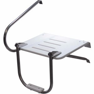 Outboard Swim Platform with 1 Step Ladder