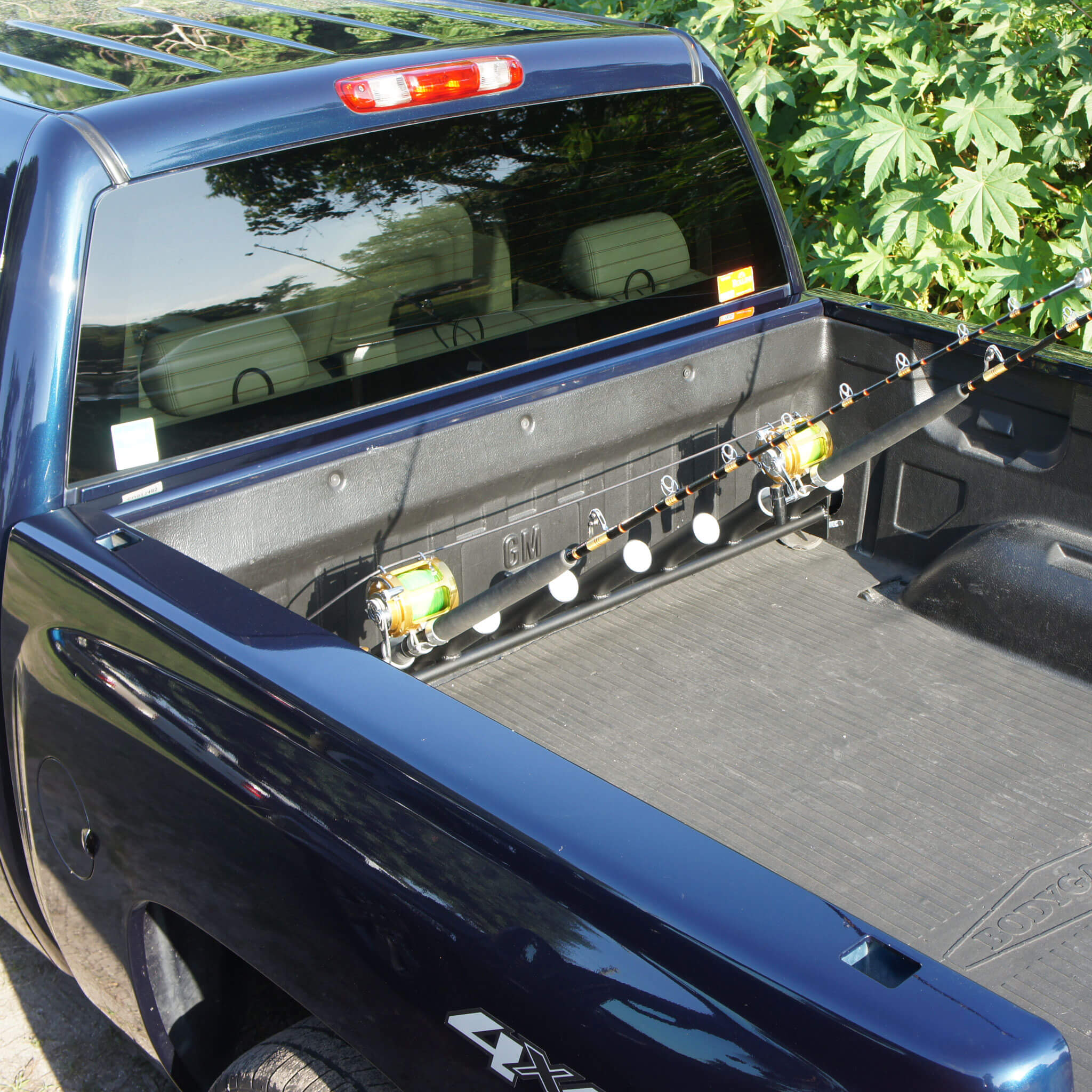 Pick Up Truck Rod Holder for Chevy and GMC Trucks