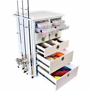 Premium 4 Drawer Dock Storage Box