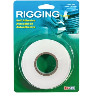 "Rigging Tape Self Adhesive 0.75"" x 108ft - White"