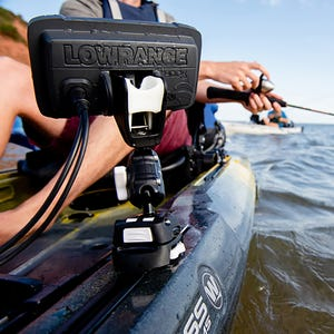 ROKK Mini HOOK2 Pro Mount Kit with Kayak Track Base