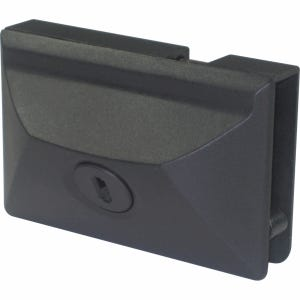 Secure Entry Door Lock Black