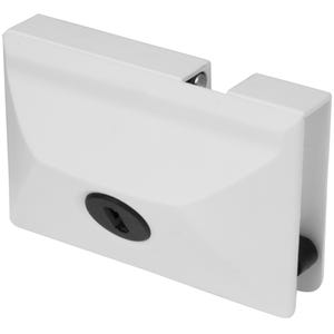 Secure Entry Door Lock White