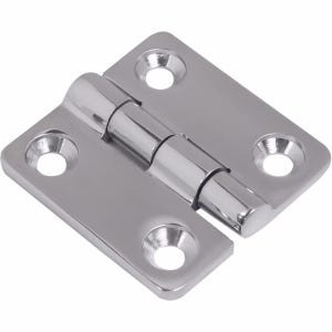 "Stainless Steel Butt Hinge 1.5"" X 1.4375"""