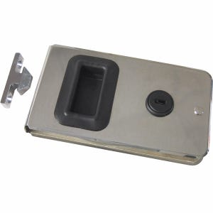 "Stainless Steel Cabin Door Latch 5.25"" x 2.875"""