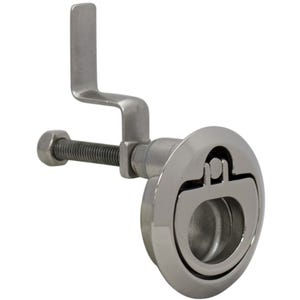 "Stainless Steel CAM Latch 2.5"" Diameter"