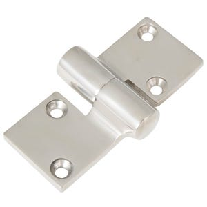 "Stainless Steel Cast Take A Part Hinge 3.625"" x 1.5"" (Left)"