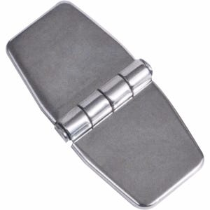 "Stainless Steel Covered Butt Hinge 3"" x 1.5"""
