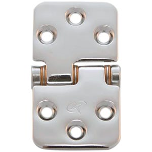 "Stainless Steel Flush Mount Friction Hinge 1.5"" x 2.75"""