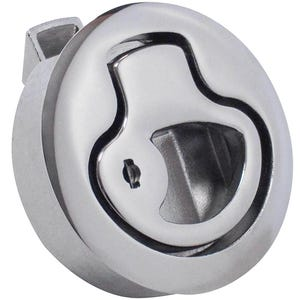 "Large 3"" Stainless Steel Flush Slam Latch"