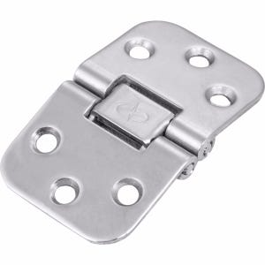 """Stainless Steel Flushed Recessed Hinge 2.75"""" x 1.625"""""""